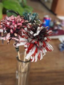 Paper Flower DIY, www.historyeventsmt.net