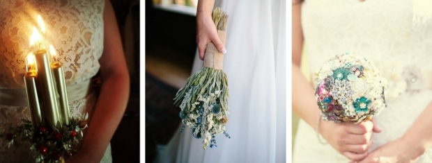 wedding bouquet alternative ideas