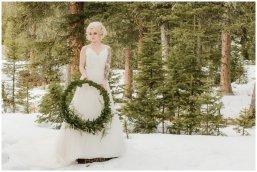 bride, winter wedding